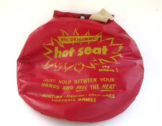 vintage original hot seat cushion for hunting fishing