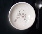 Love is the key 6 inch bowl
