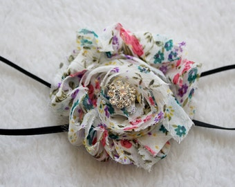 CLEARANCE!!! Shabby Chic Headband - Age 6 Months to Teen!