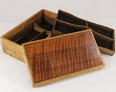 Handcrafted Wooden Box - Perfect for Jewelry, Sewing, Knick Knacks, Hopes, Paryers & Dreams