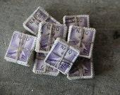purple block U.S. postage stamp bundle - NATO - 1952