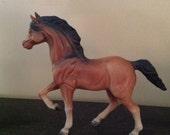 Beautiful Bay Horse Figurine