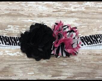 Zebra Safari Headband