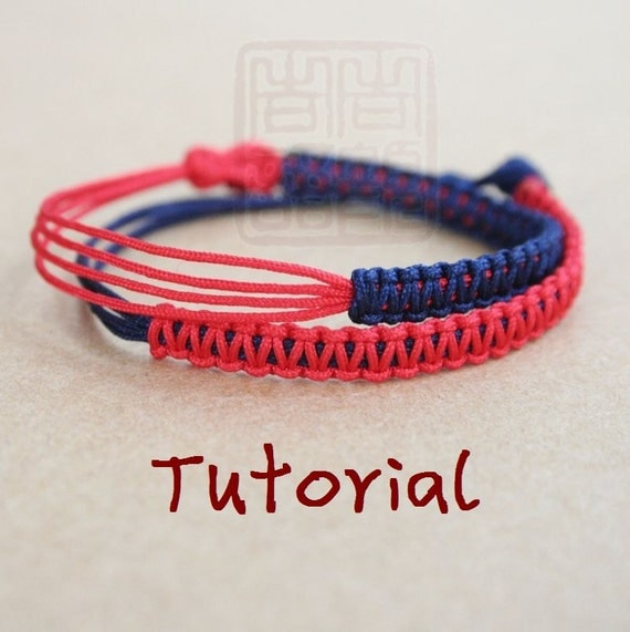 how to make a chinese sliding knot bracelet