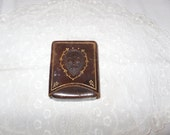 Vintage Leather Cigarette Case Made in italy