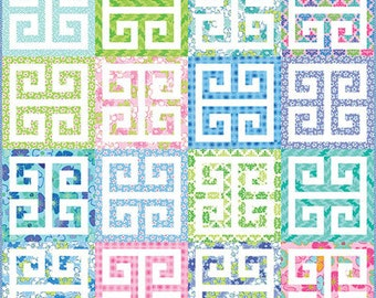 Me and My Sister Designs Pin Curls Quilt Pattern