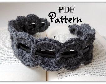 PDF CROCHET PATTERN, Crochet Trim for Headband, Many Photos, Crochet Trends, Chic,  Boho, Instant Digital Download, Pattern Only