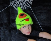Crochet Pixie Monster Hat (7 Sizes) - PATTERN ONLY