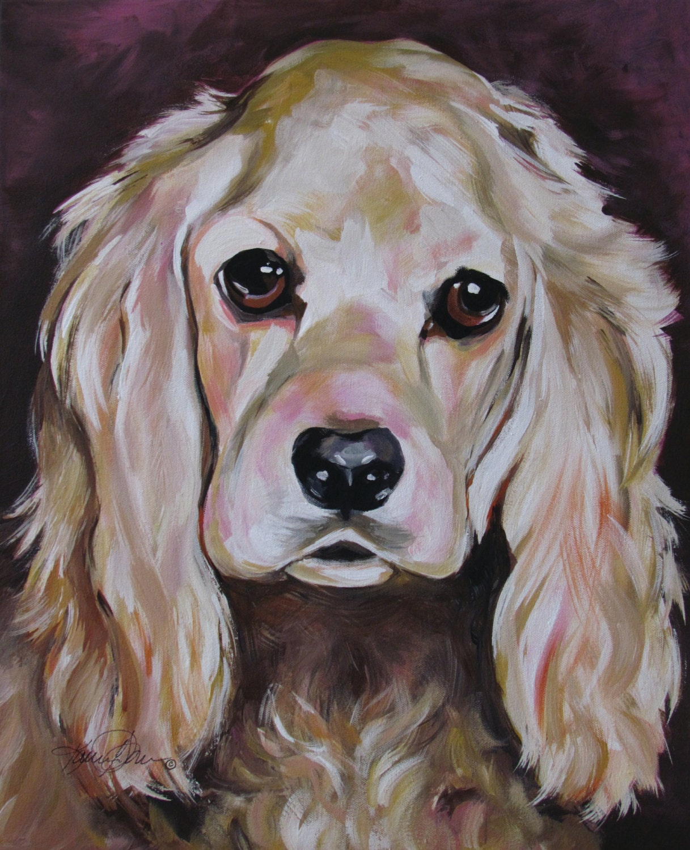 Custom Famous Dog Painting
