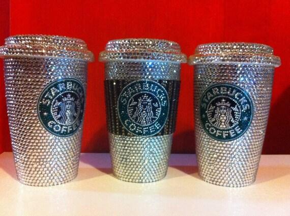 Items Similar To Swarovski Crystal Starbucks Coffee Mug