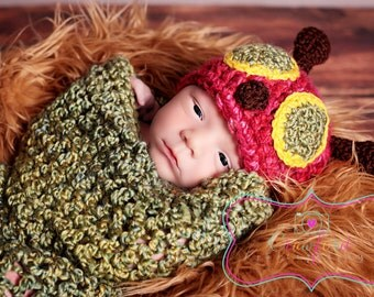 Newborn Hungry Caterpillar Cocoon Set