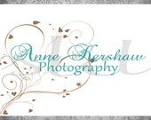 LOGO Design INSTANT DOWNLOAD / Watermark Photography or Small Business / Customizable