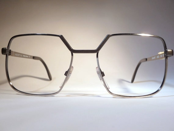 Eyeglass Frames Germany : 80s Neostyle squared vintage eyeglass frames in by ...