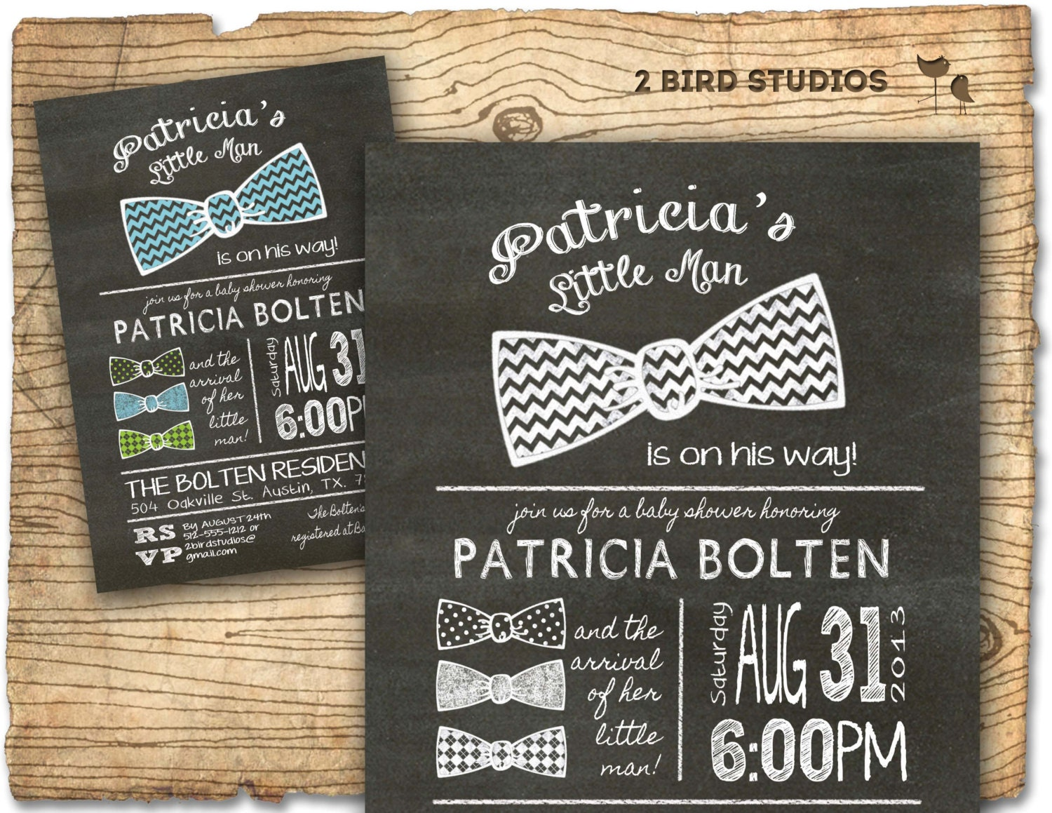 baby shower invitation bow tie little man baby shower