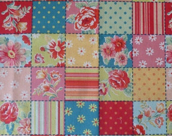 Patchwork  in Red  from QH Textiles