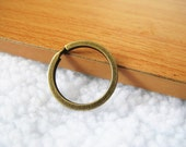 35 pcs 2x28mm Round Key Rings Split Rings Antique Bronze Double Loop Split Open Jump Ring A1183-20B