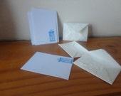 Tiny Tardis Notepaper