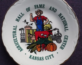 Agriculture Hall of Fame Kansas CIty Plate