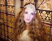 Rhinestone Bridal Headband 'Deva'