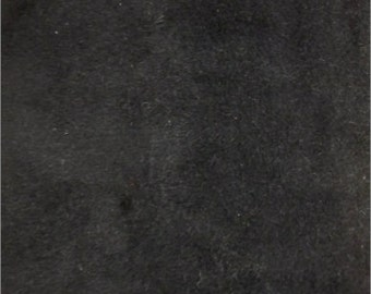 """Solid Velboa Faux Fur Fabric - Black - Sold By The Yard  - 58""""/60"""" Width"""