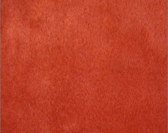 """Solid Velboa Faux Fur Fabric - Red - Sold By The Yard  - 58""""/60"""" Width"""