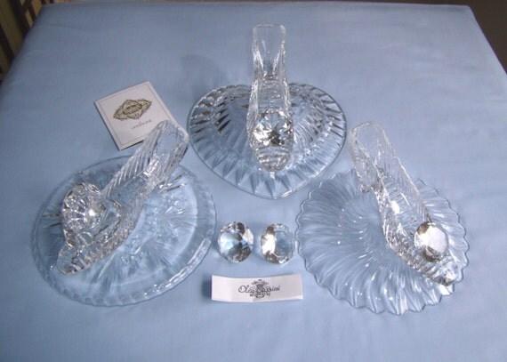 Custom made cinderella glass slipper designed by