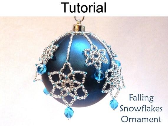 Beading Tutorial Pattern Beaded Christmas Ornaments