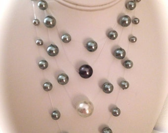 Illusions Triple Necklace