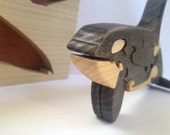 Freestanding Wooden Orca puzzle