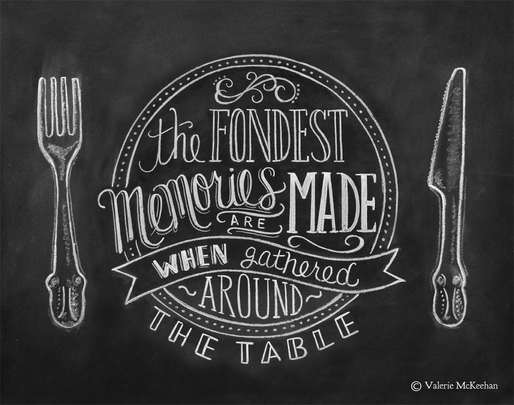 Chalkboard Art Kitchen Chalkboard Art Dining Room By