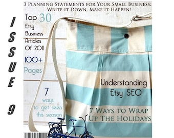 Handmadeology Magazine - Issue 9 - Bookkeeping - Taxes - Success