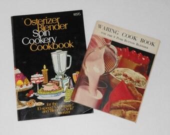 Vintage Blender Cookbook Set