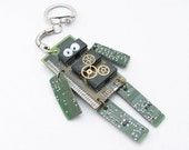 Bubu the little robot keychain