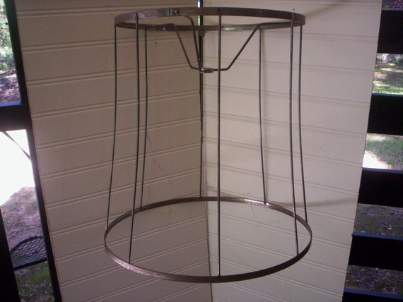 Reusable Lamp Shade Frame Vintage Wire Lamp Shade