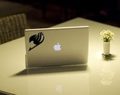 Fairy Tail Logo Anime Decal for Macbook, Laptop, iPad, iPhone, Car, Windows, Wall, Nintendo 3ds, XBox, Playstation etc