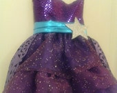 Barbie Princess and Popstar Keira Purple Convertible Dress Costume for Girls