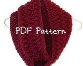 Twisted Infinity Crochet Scarf Pattern