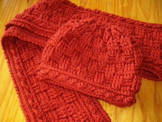 Crochet Pattern Mens Hat And Scarf Traitoro For