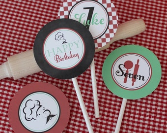 Pizza Party Printable Party Circles : Printable Party Designs by The Paper Doll