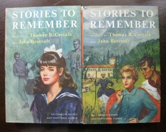 Stories to Remember 4-Volume Set, 1956 ed.