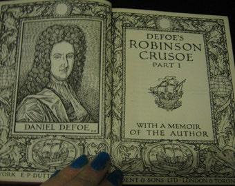 Robinson Crusoe Part 1 - Daniel Defoe 1928- King's Treasures of Literature