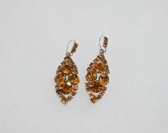 Vintage Costume Jewelry Earrings