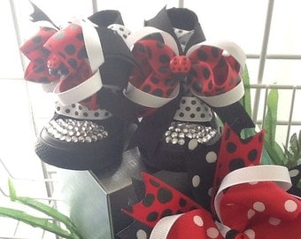LADY BUG  BLINGALICIOUS High Top Sneakers for your Pretty Princess