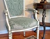 Louis XVI Style Vintage Arm Chair