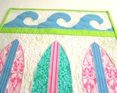 Surfboard Quilt Pattern: Moondoggie