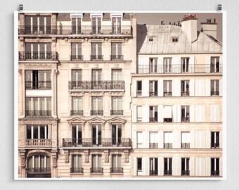 Paris photograpgy - Paris Facade - Paris photo,Fine art photography,Paris home decor,8x10 wall art,white,Paris decor,Art posters