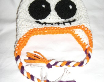 Ghost Beanie-Halloween Newborn Hat