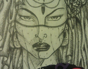 shaman woman mainline lady