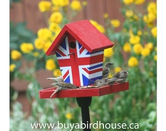 "Union Jack Flag ""Bird Feeder"""