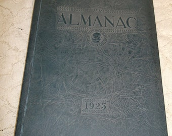 LA Franklin High School Yearbook 1925 The Almanac